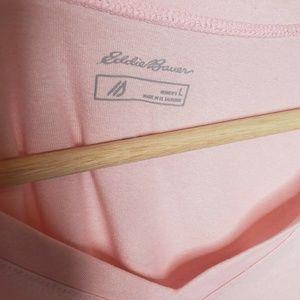 Eddie Bauer Tops - Eddie Bauer Women's Large Free Dry Shirt V Neck
